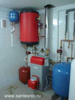 Отопление дома тепло вода