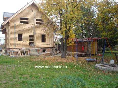 Особенностью приведенного ниже загородного дома является котельная очень небольшой площади, являющаяся к тому же...