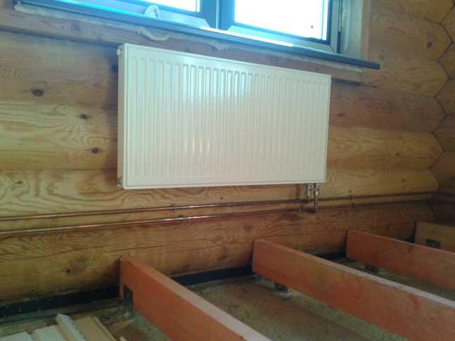 Отопление дома под ключ московская область цена