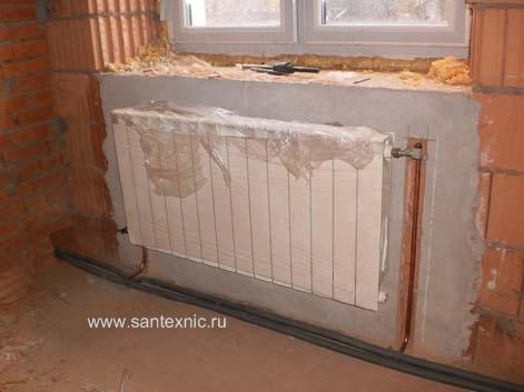 Монтаж ремонт систем отопления водоснабжения