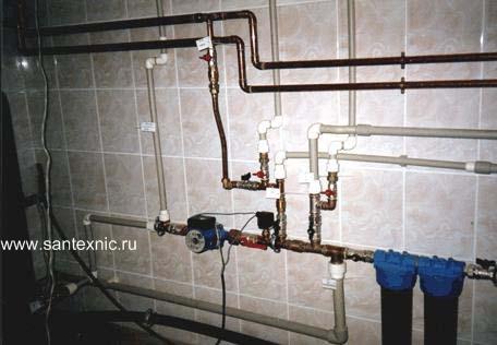Горячее и тепловое водоснабжение жилых домов