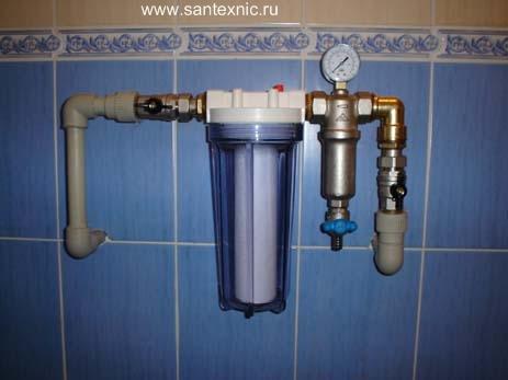 244Фильтры для воды в частный дом