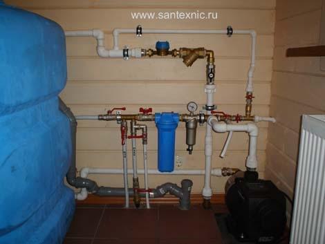 Монтаж водоснабжения в частном доме своими руками